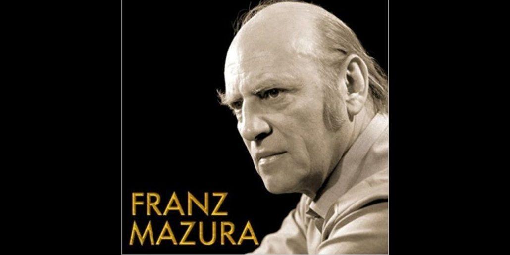 Franz Mazura: cantar hasta la muerte
